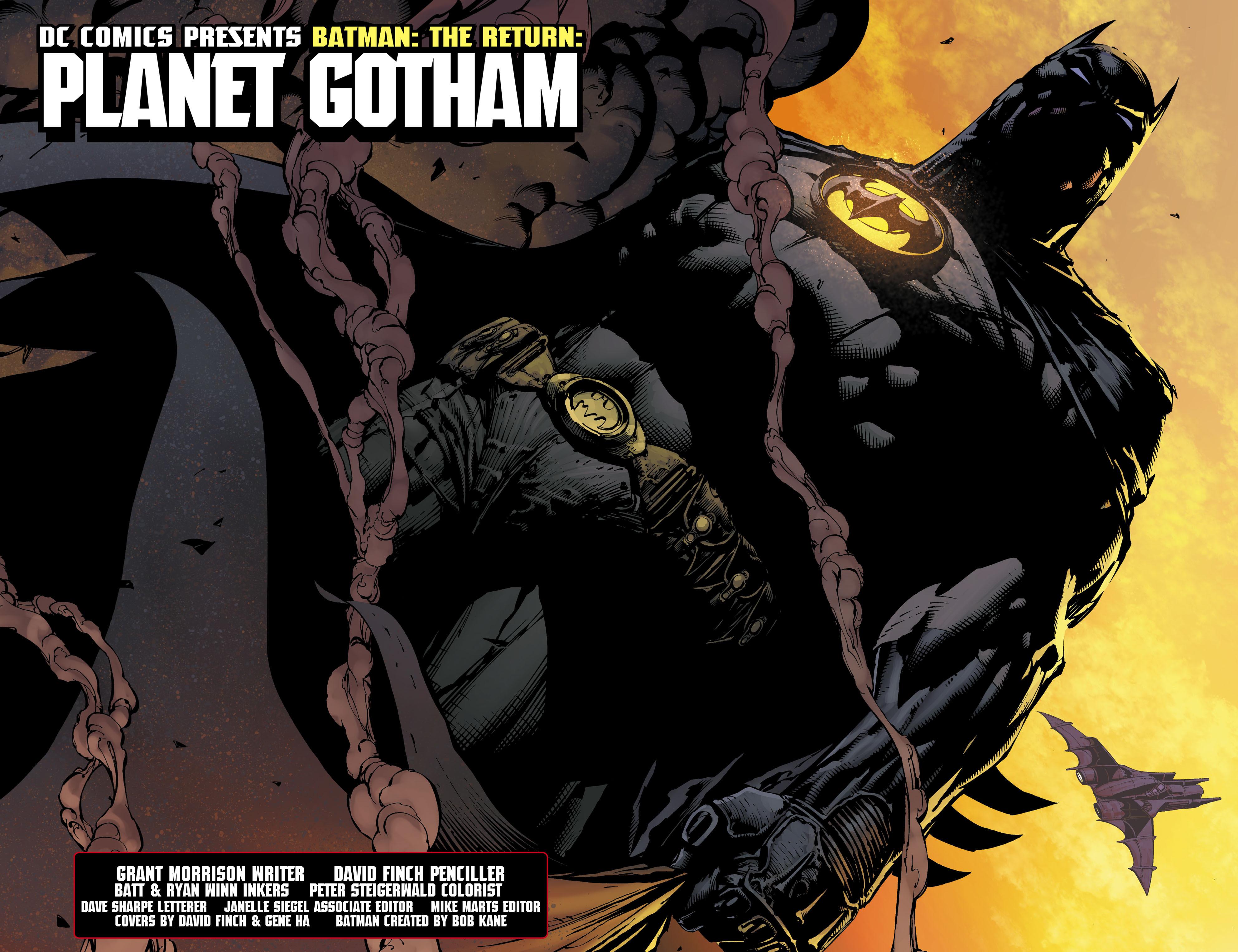 Read online Batman: The Return comic -  Issue # Full - 7