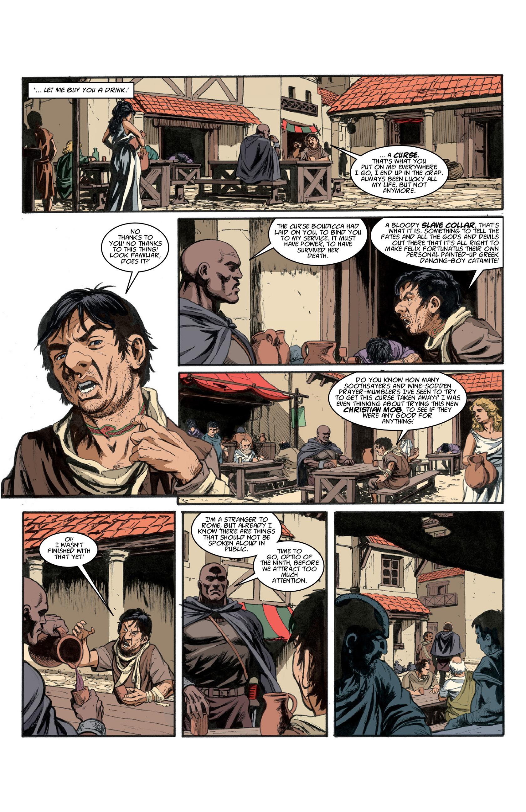 Read online Aquila comic -  Issue #3 - 5