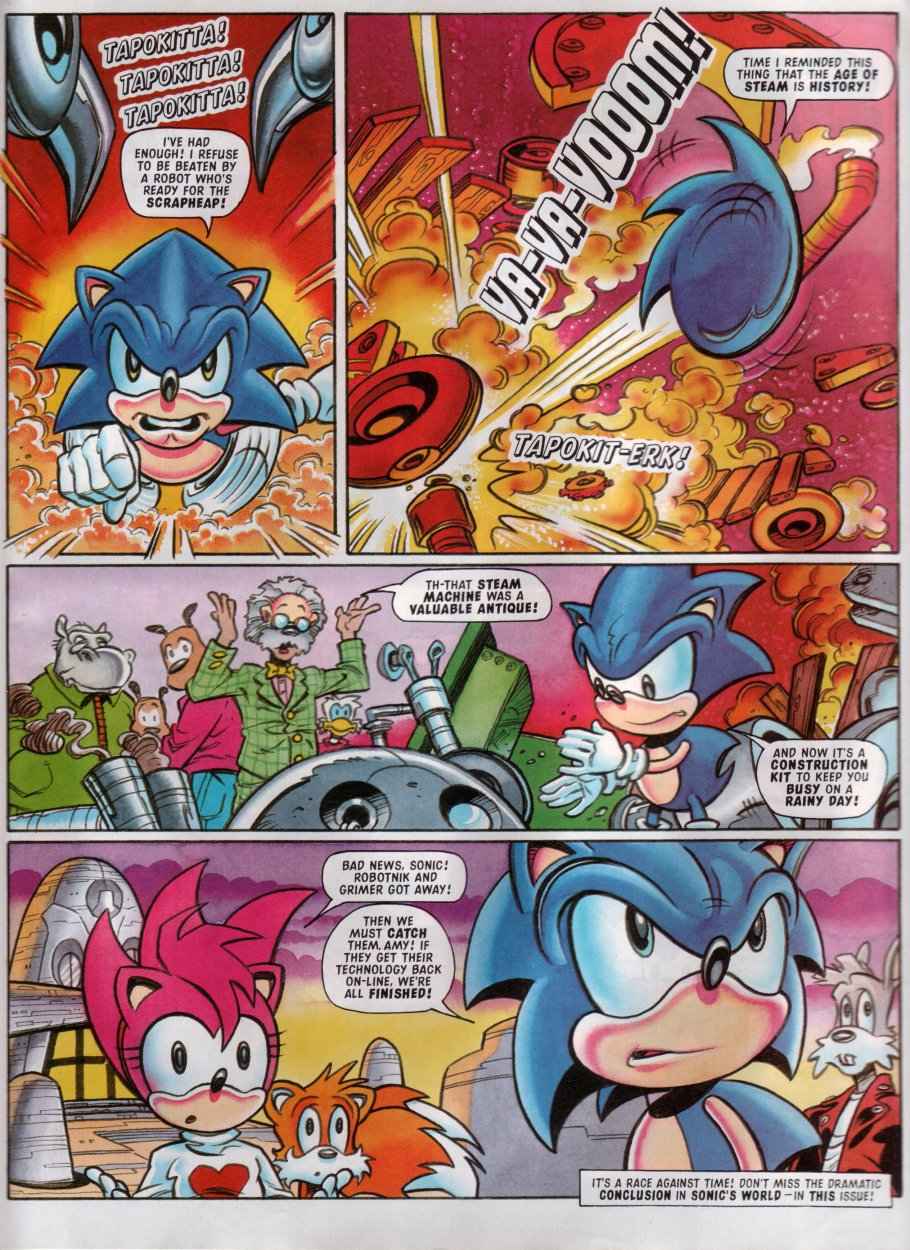 Read online Sonic the Comic comic -  Issue #100 - 19