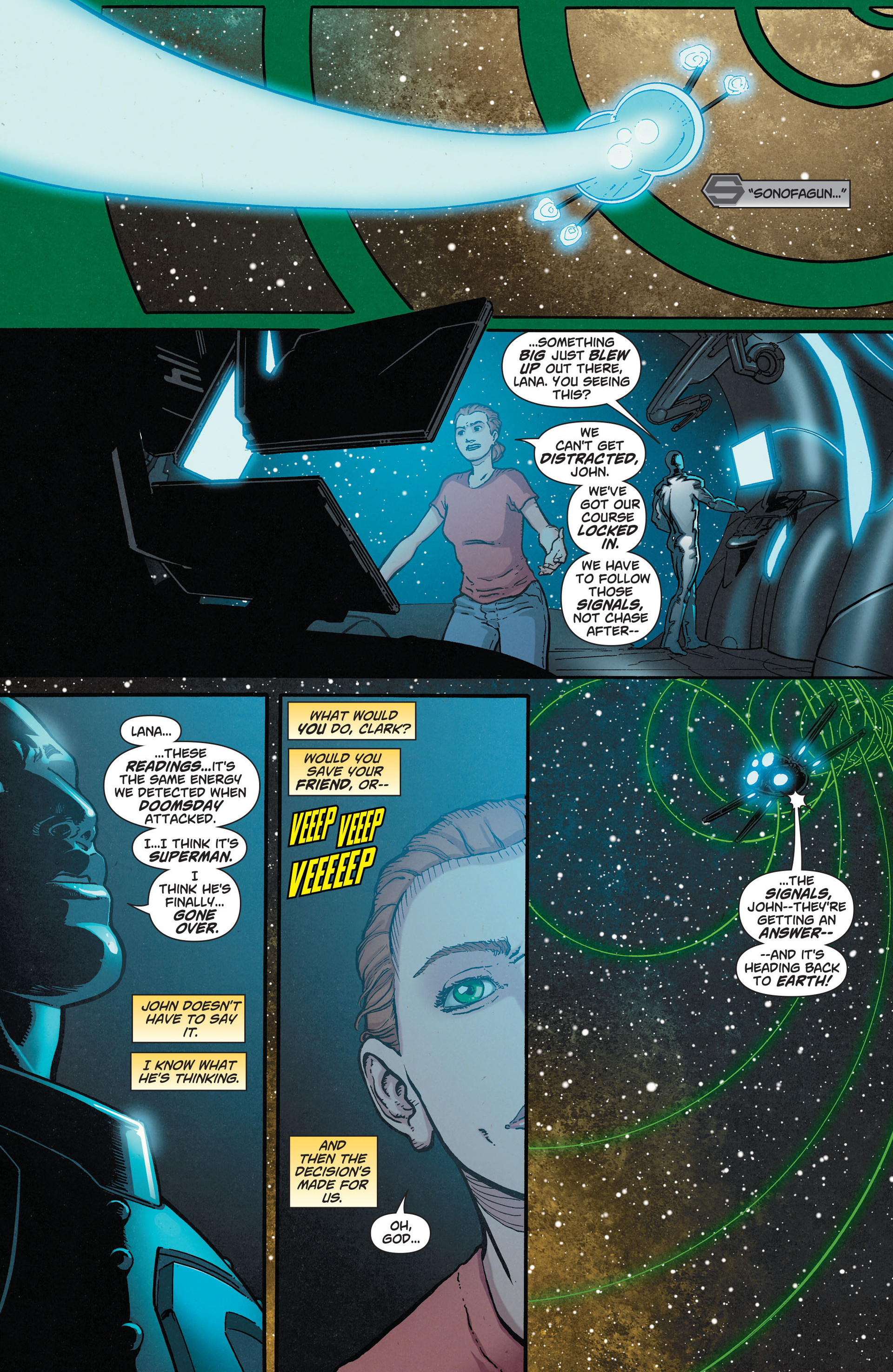 Read online Action Comics (2011) comic -  Issue #33 - 20
