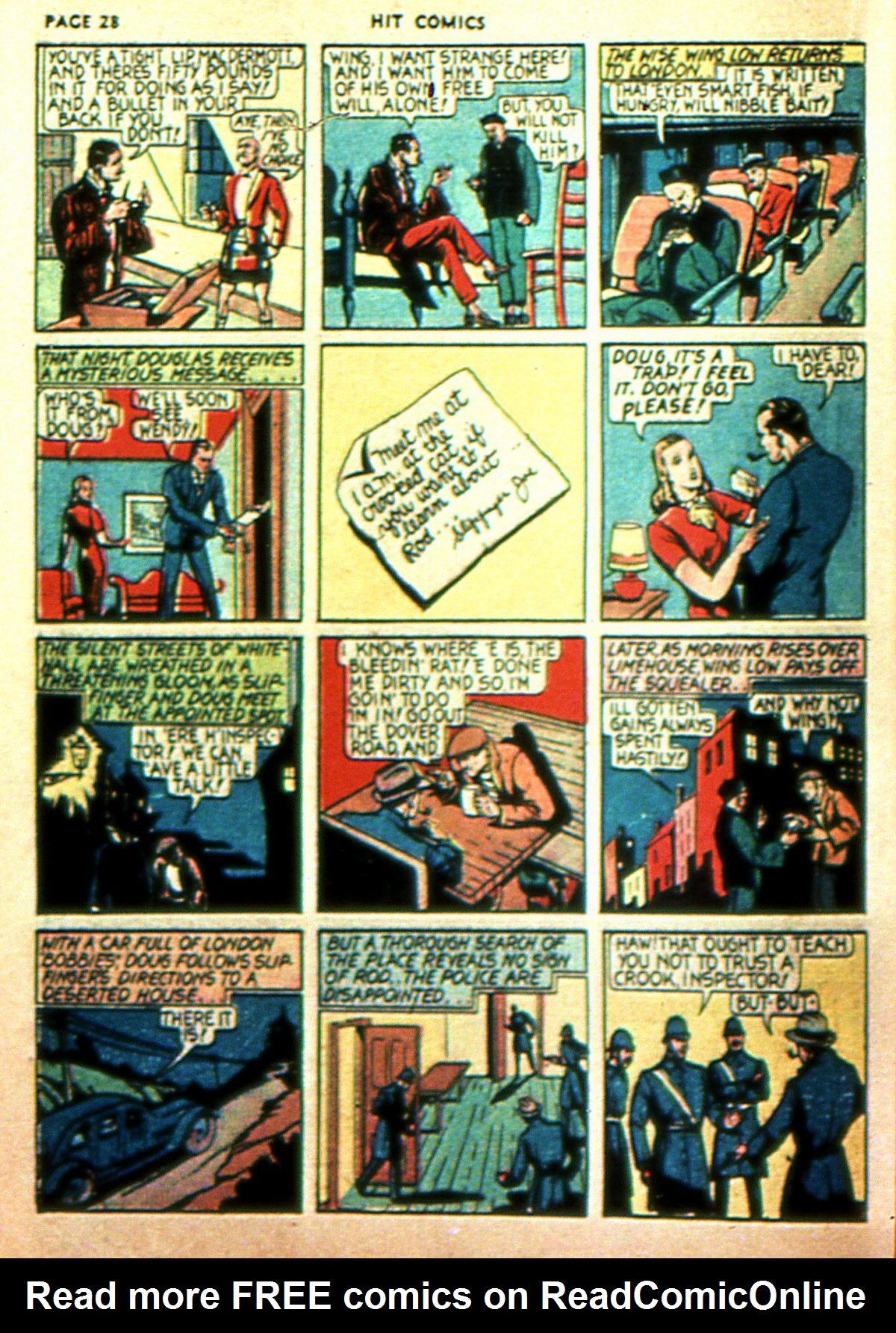 Read online Hit Comics comic -  Issue #2 - 30