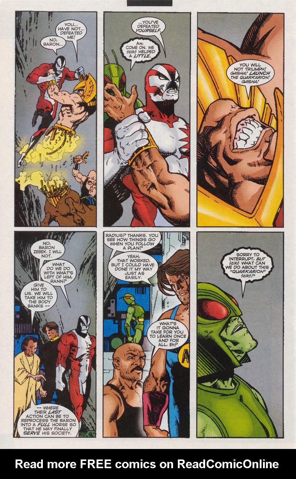 Read online Alpha Flight (1997) comic -  Issue #11 - 20