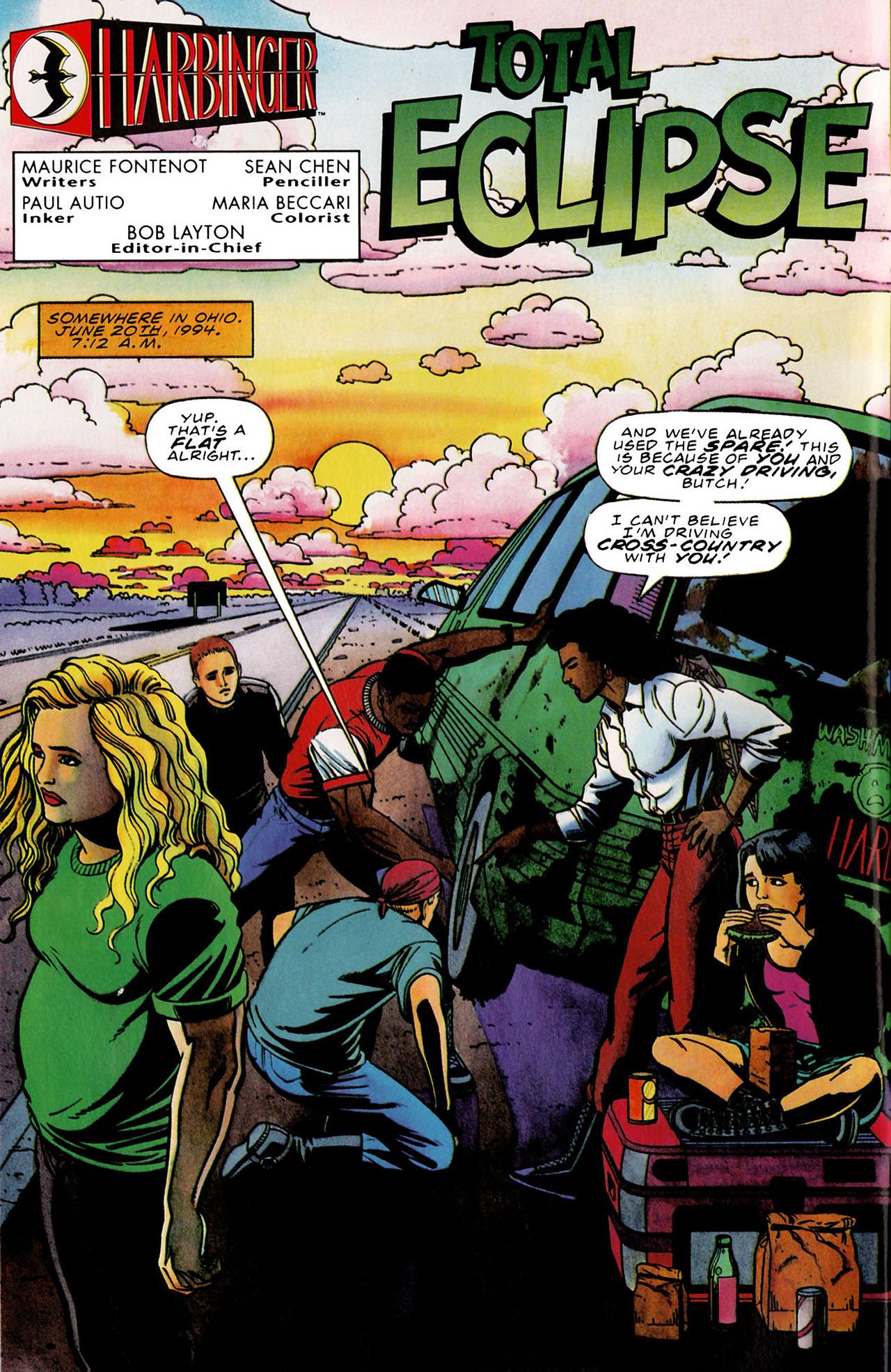 Read online Harbinger (1992) comic -  Issue #33 - 3