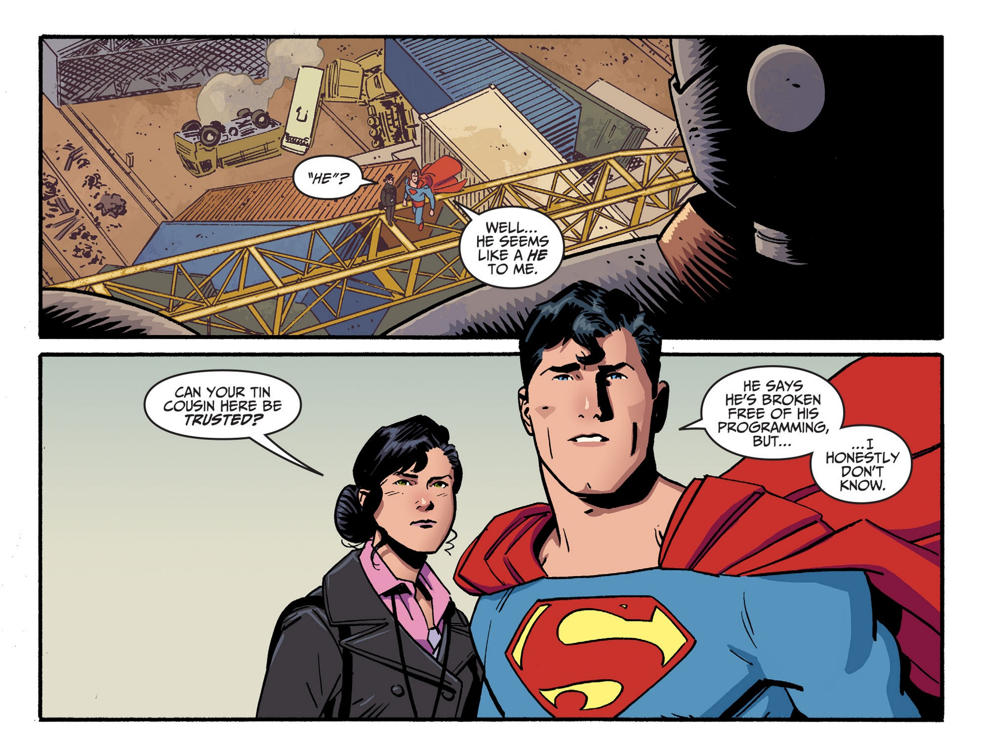 Read online Adventures of Superman [I] comic -  Issue #44 - 20