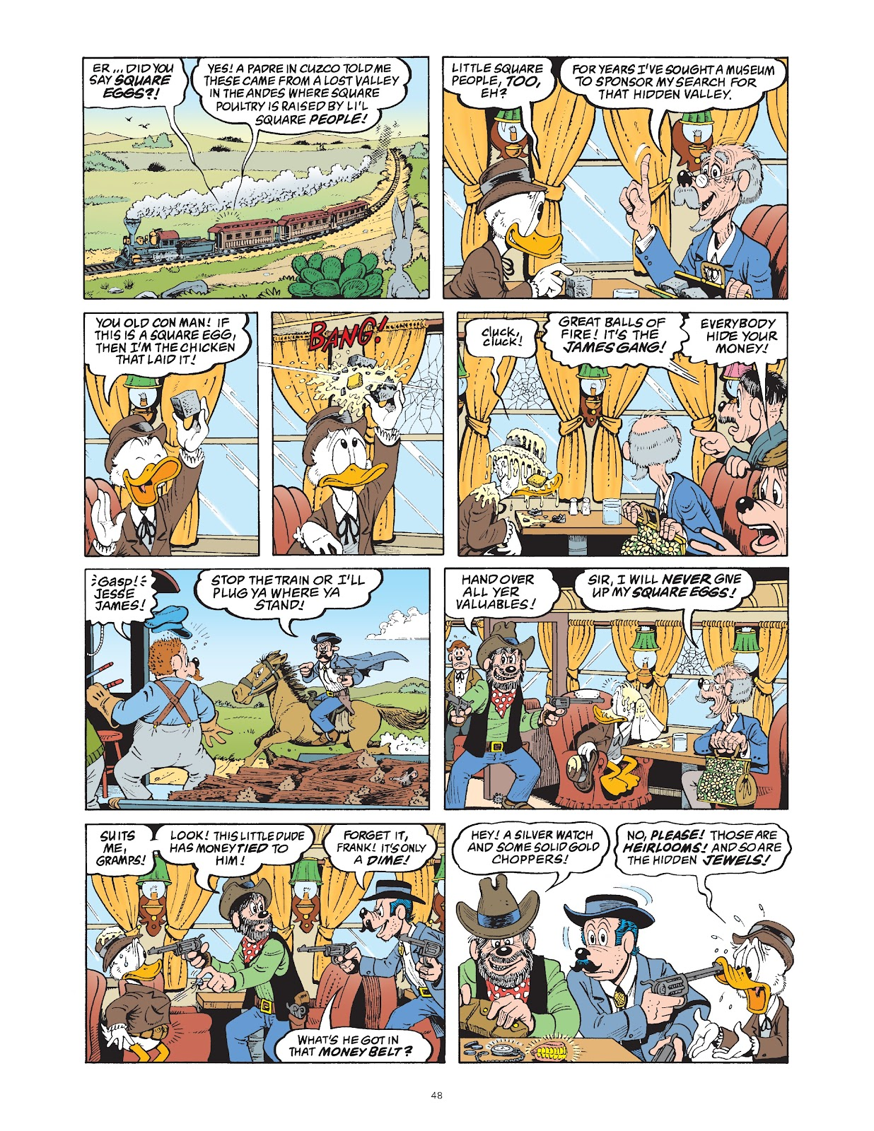 Read online The Complete Life and Times of Scrooge McDuck comic -  Issue # TPB 1 (Part 1) - 53
