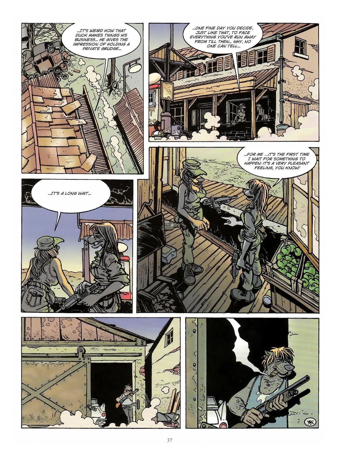 Une enquête de l'inspecteur Canardo issue 10 - Page 38