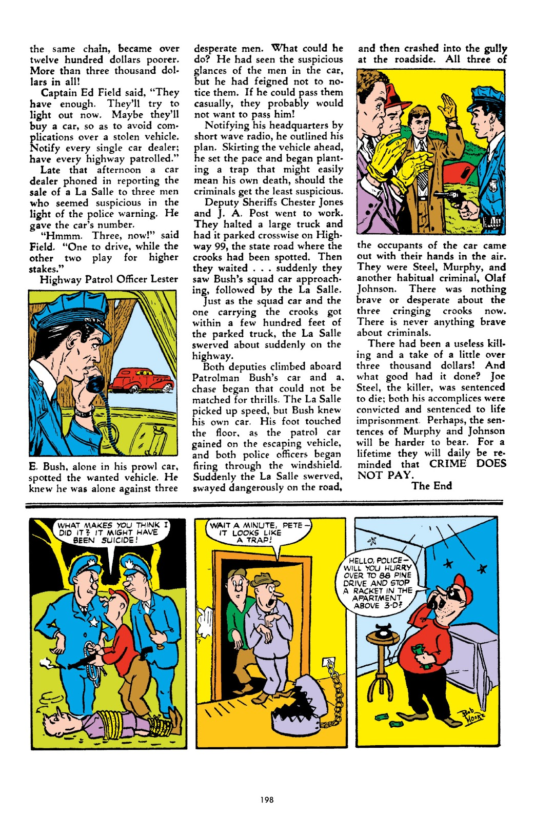 Read online Crime Does Not Pay Archives comic -  Issue # TPB 10 (Part 2) - 99
