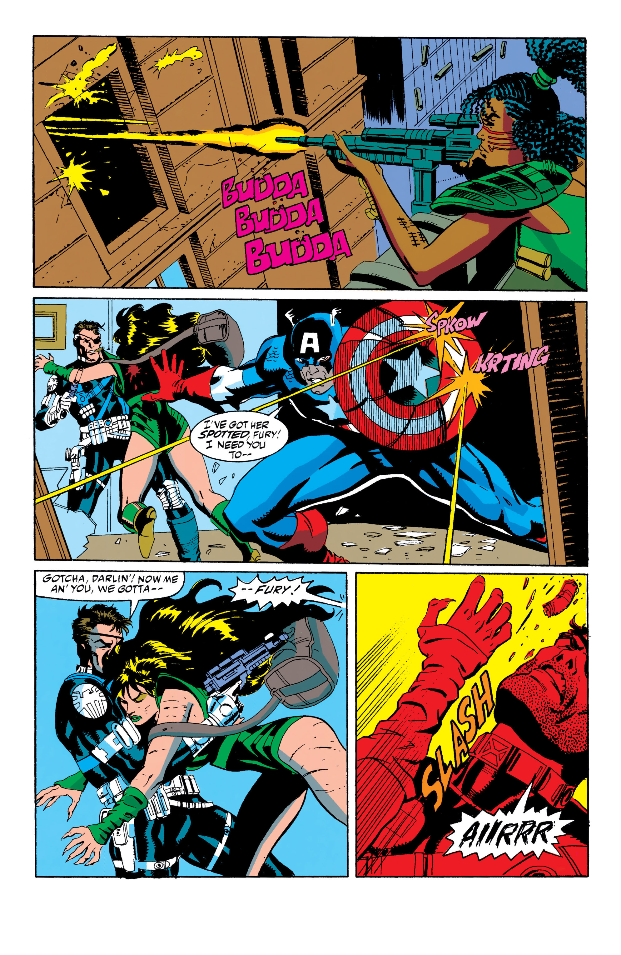 Read online Captain America (1968) comic -  Issue # _Annual 10 - 18
