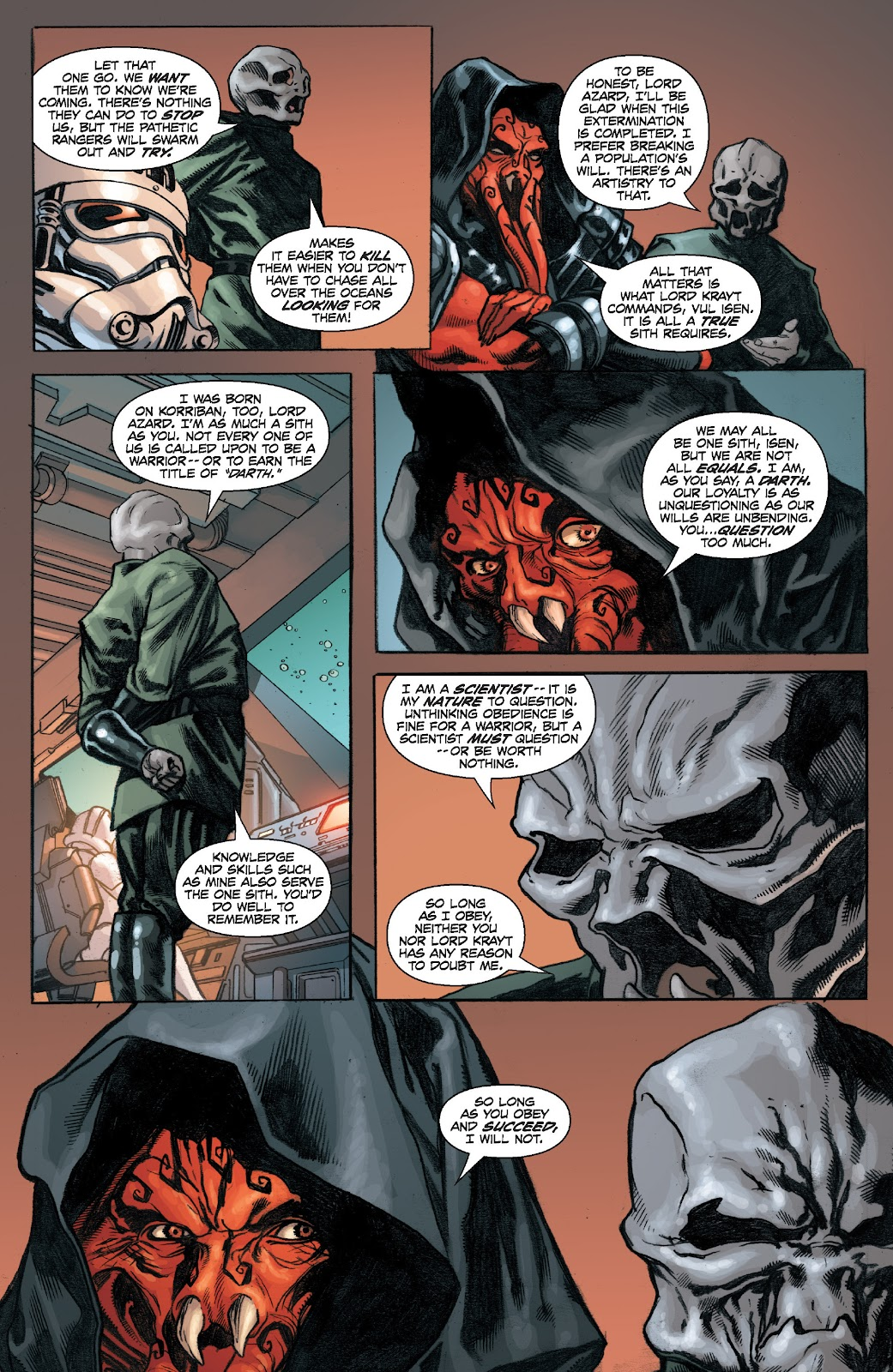 Read online Star Wars Legends: Legacy - Epic Collection comic -  Issue # TPB 2 (Part 4) - 22