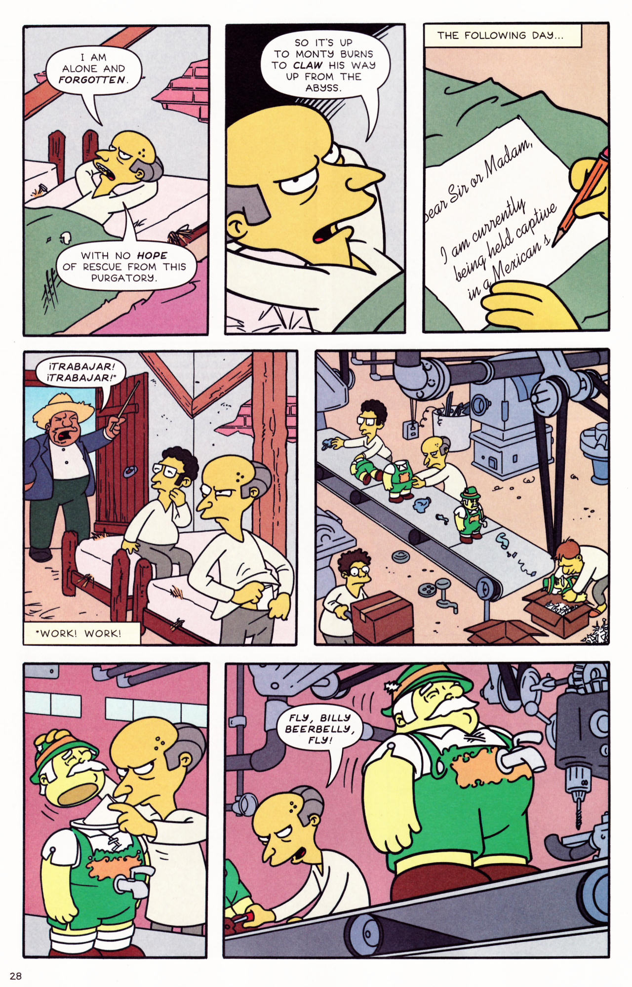 Read online Simpsons Comics comic -  Issue #132 - 24
