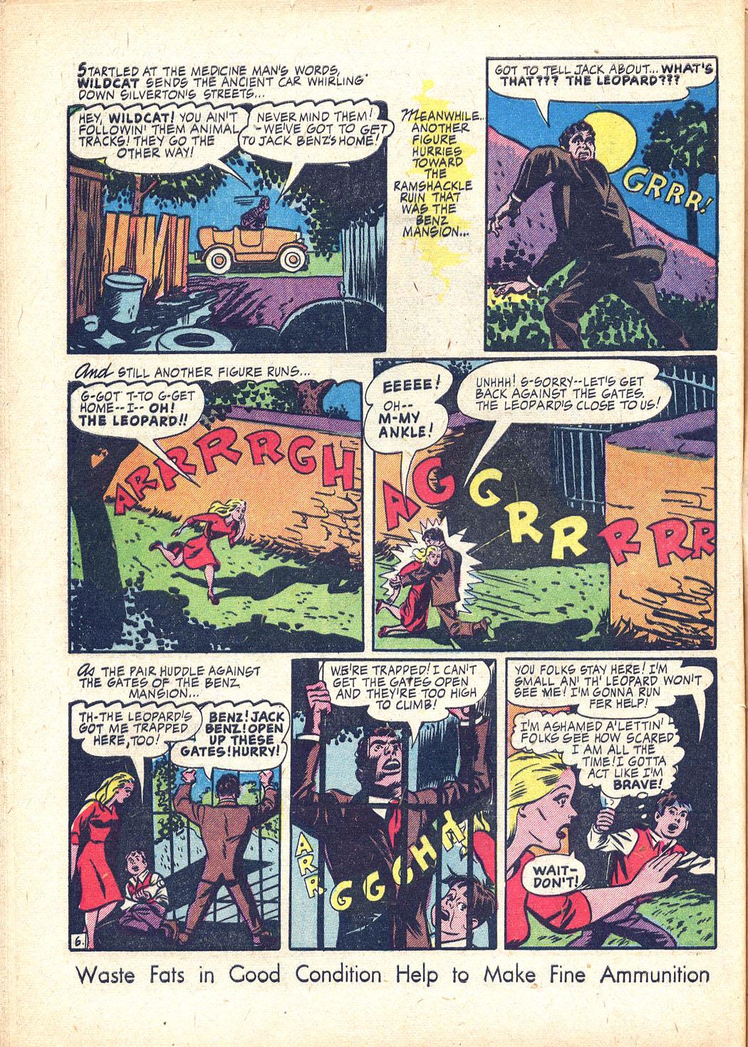 Read online Sensation (Mystery) Comics comic -  Issue #34 - 46