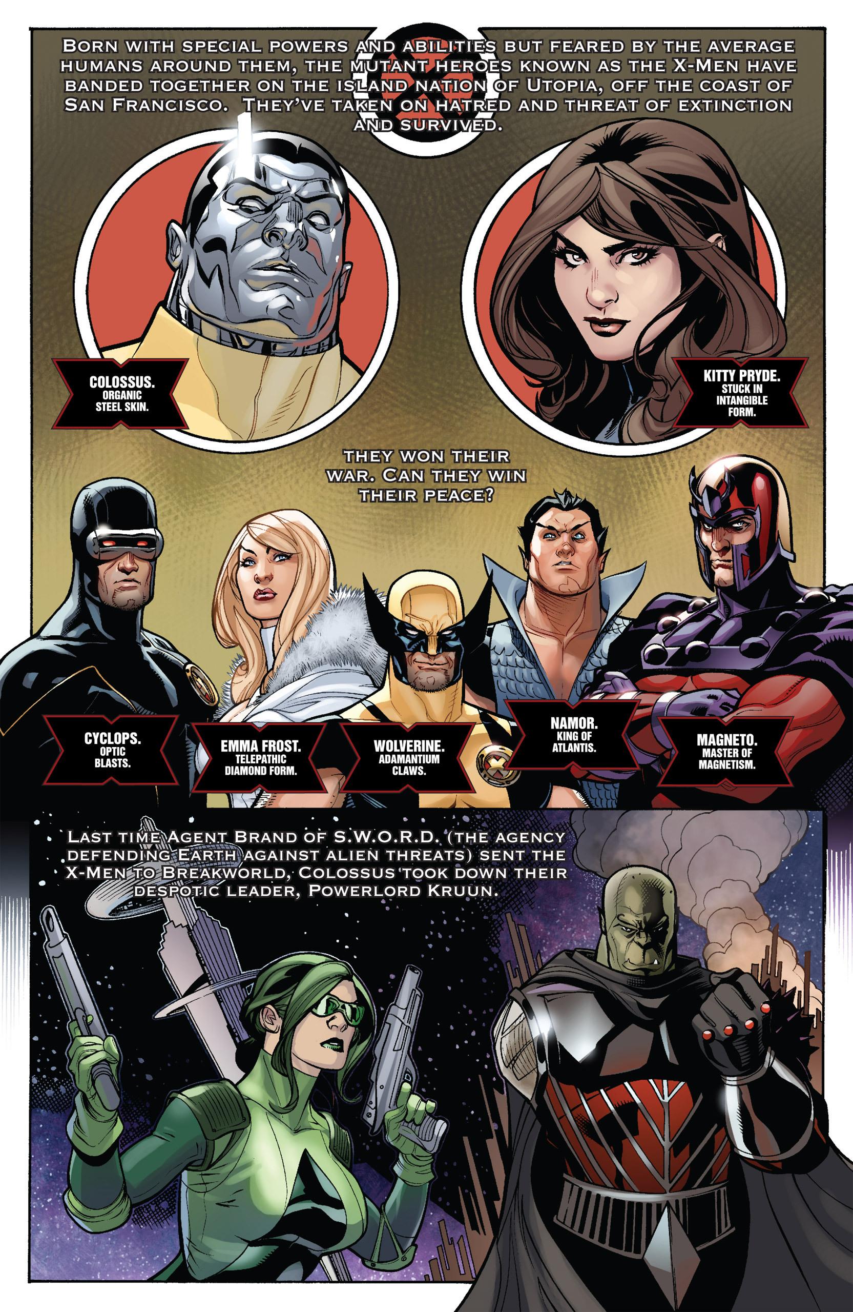 Read online Uncanny X-Men (1963) comic -  Issue #535 - 2