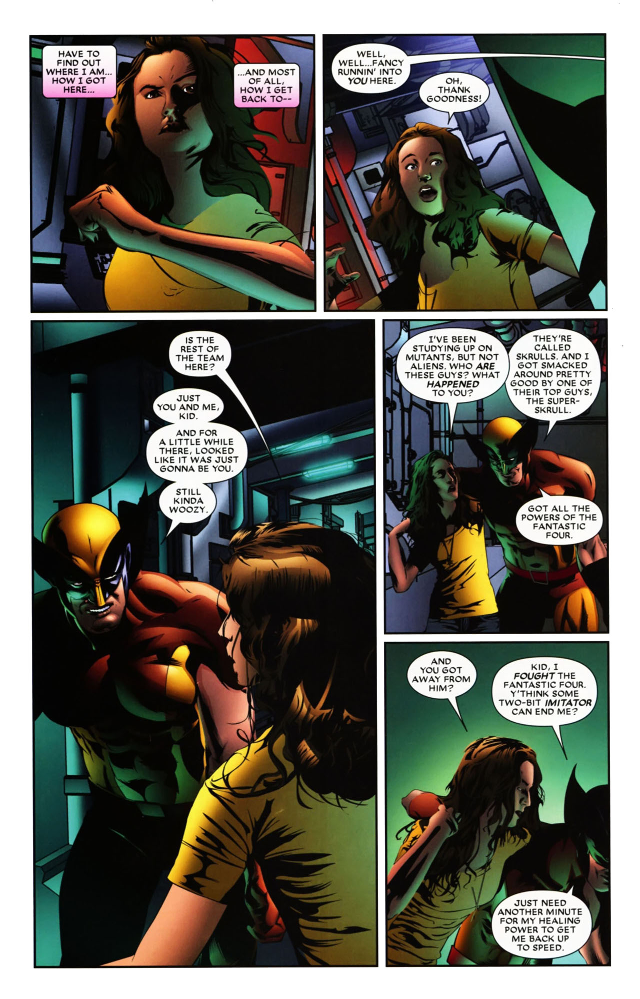 Read online Wolverine: First Class comic -  Issue #19 - 18