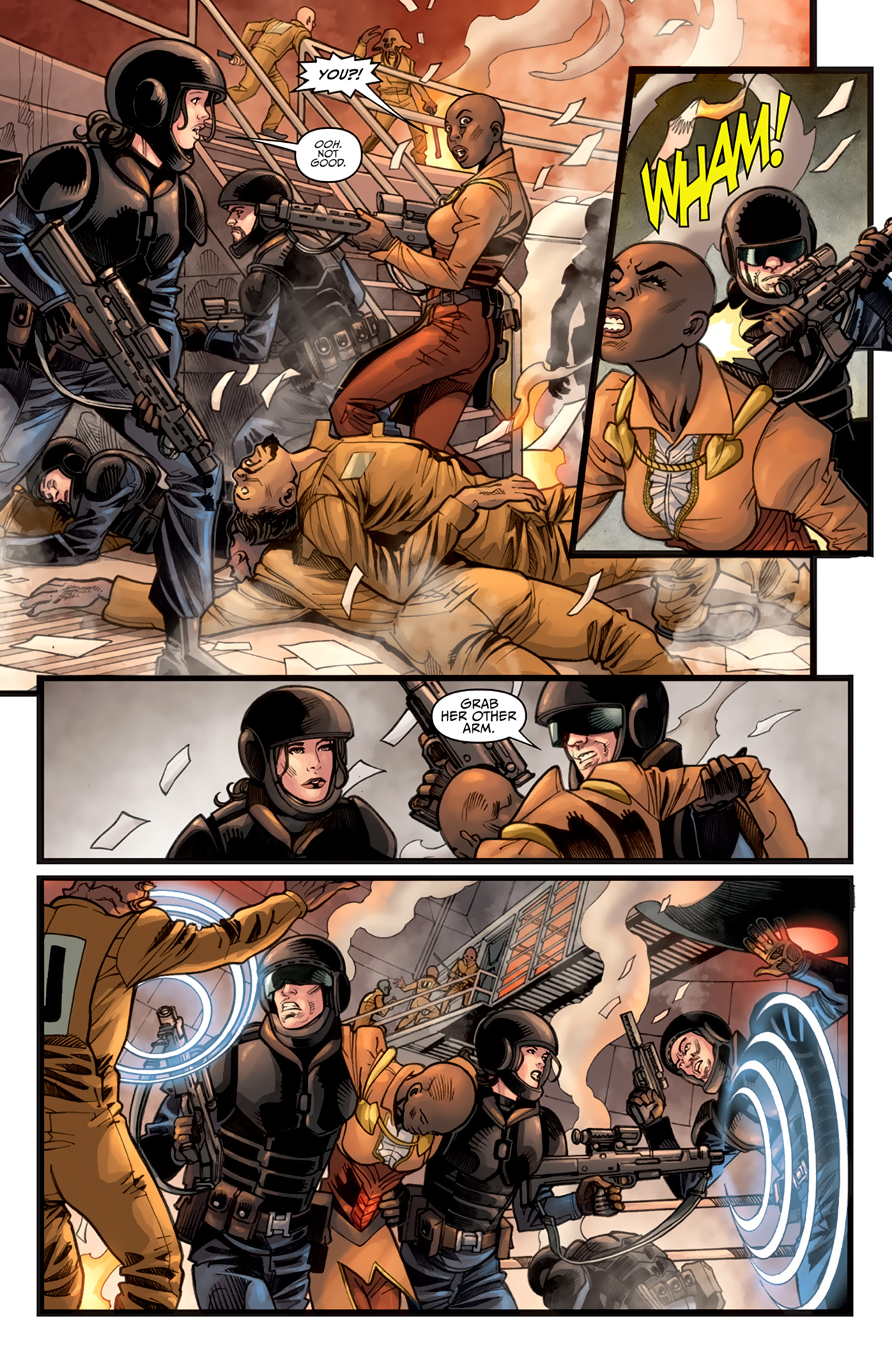 Read online Star Wars: Agent Of The Empire - Hard Targets comic -  Issue #3 - 21