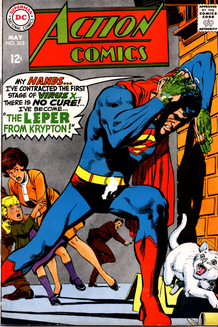 Read online Action Comics (1938) comic -  Issue #363 - 1