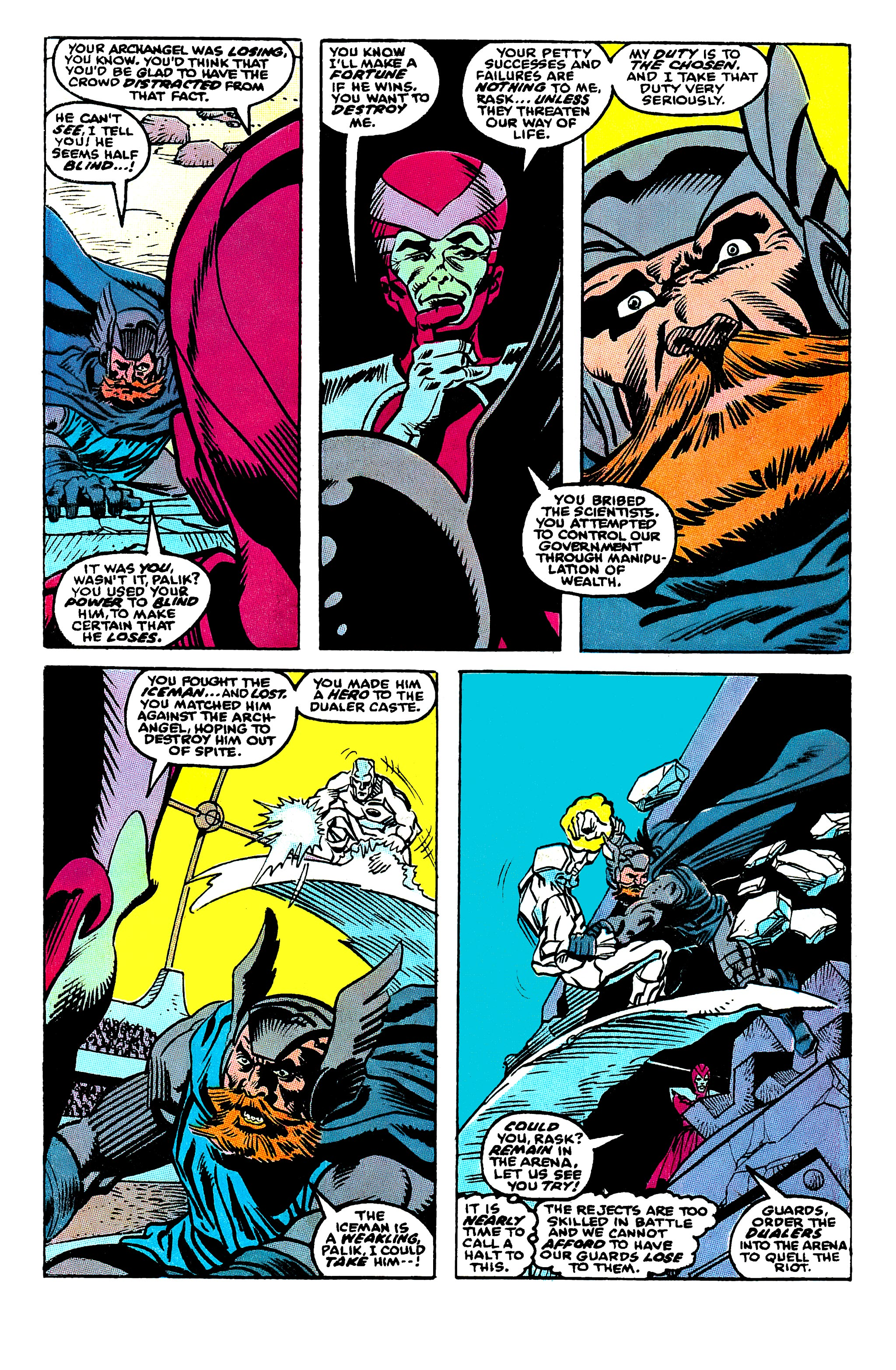 Read online X-Factor (1986) comic -  Issue #50 - 5