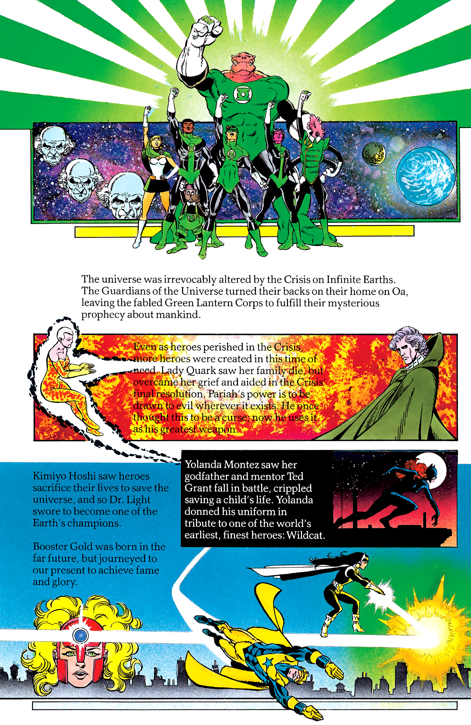 Read online History of the DC Universe comic -  Issue #2 - 37