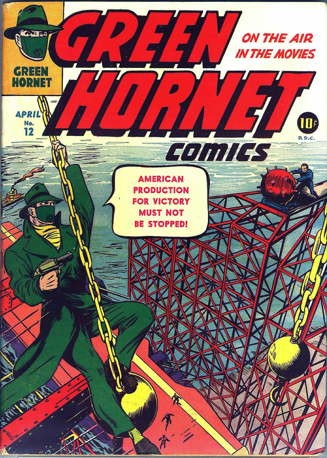 Green Hornet Comics issue 12 - Page 1