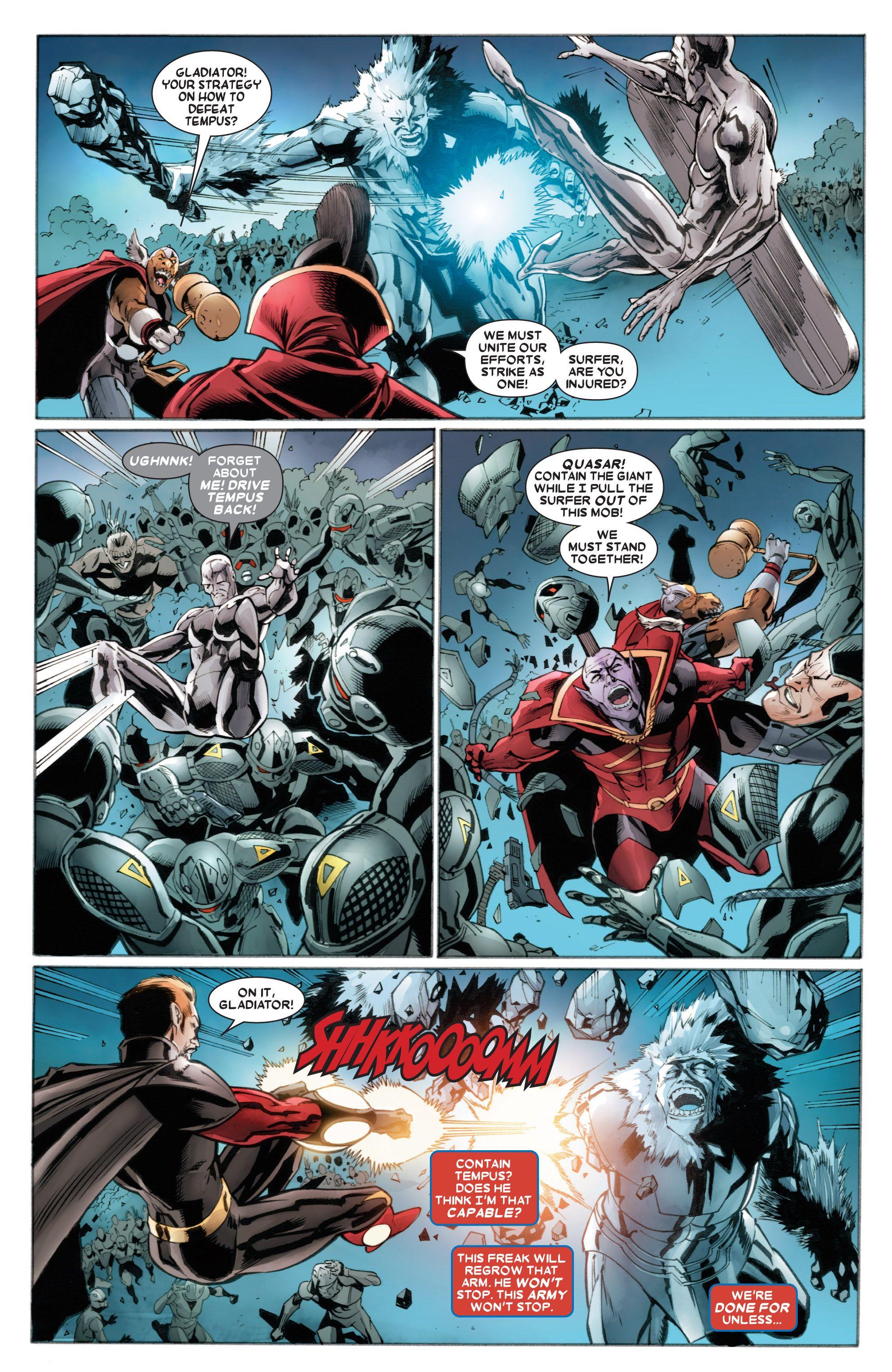 Read online Annihilators comic -  Issue #4 - 8
