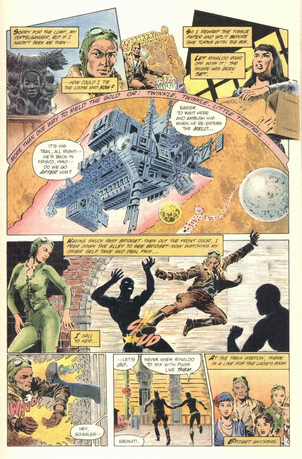 Read online Aztec Ace comic -  Issue #1 - 35