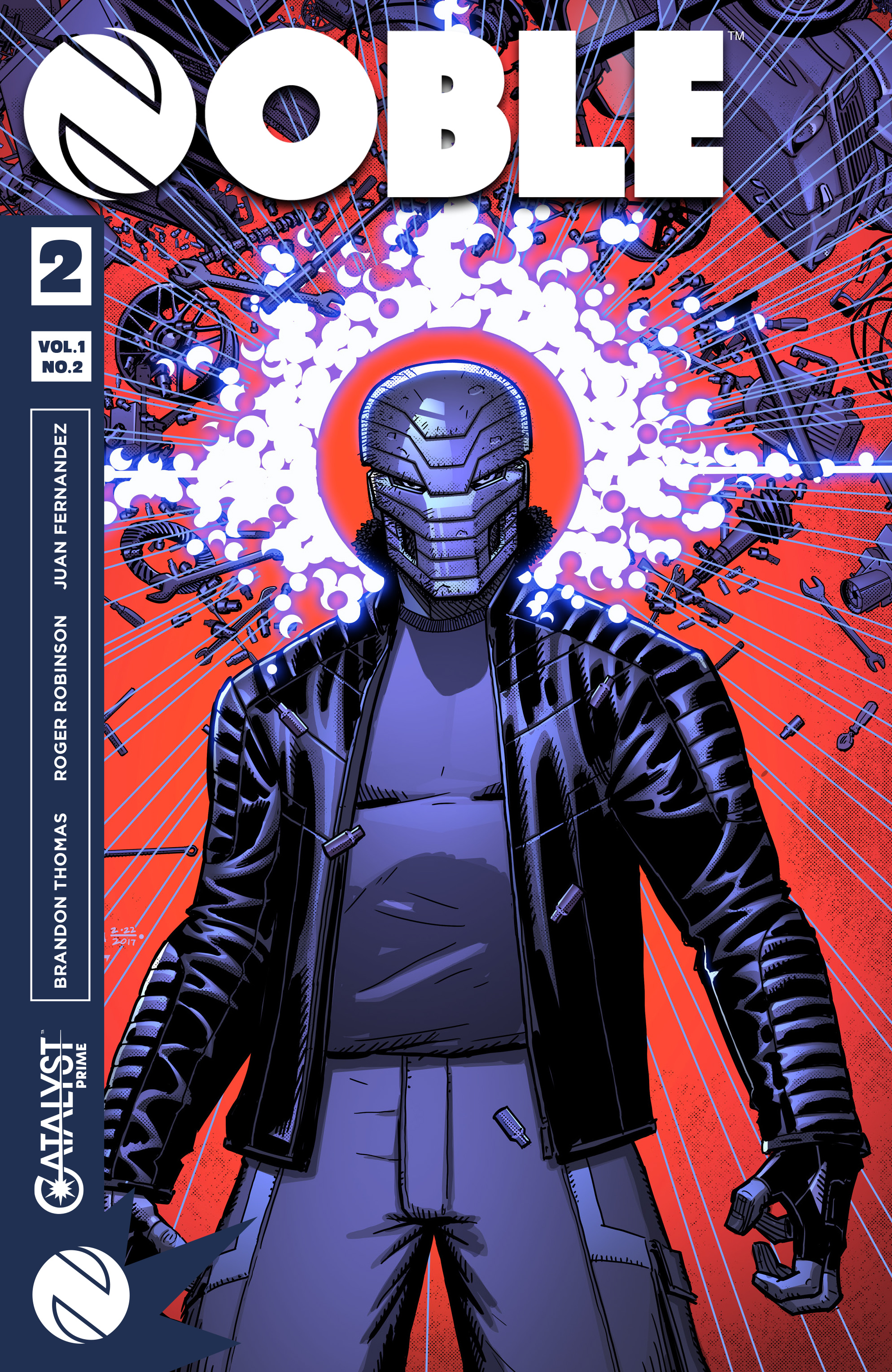 Read online Noble comic -  Issue #2 - 1