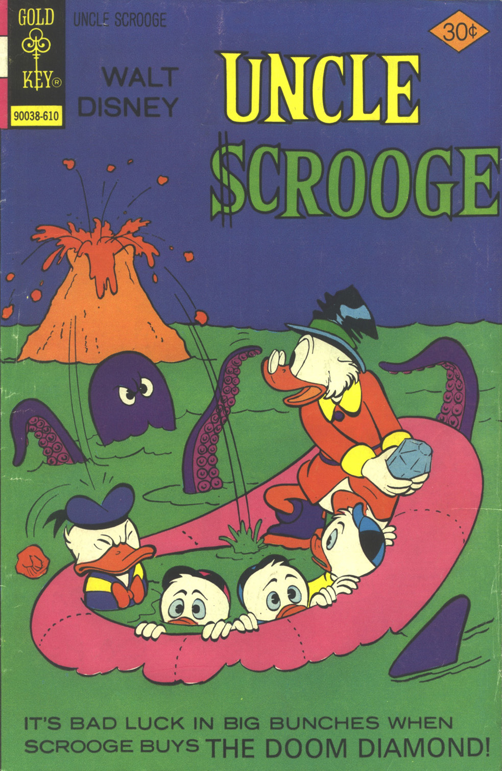 Read online Uncle Scrooge (1953) comic -  Issue #133 - 1