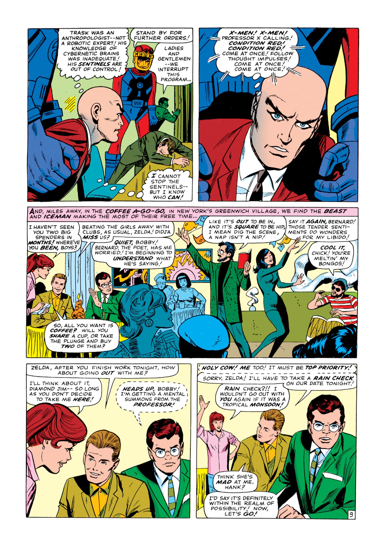 Read online Uncanny X-Men (1963) comic -  Issue #14 - 10