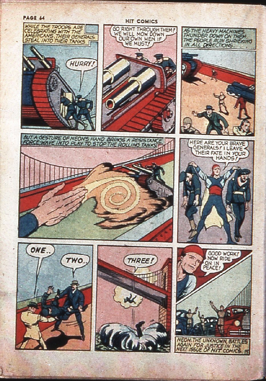 Read online Hit Comics comic -  Issue #4 - 66