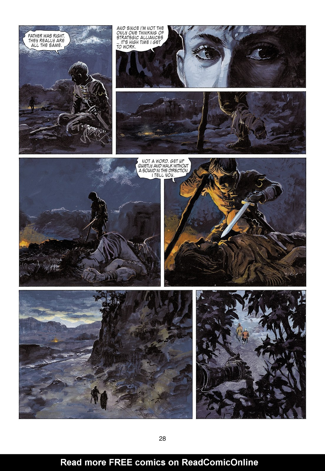 Read online Thorgal comic -  Issue #22 - 30