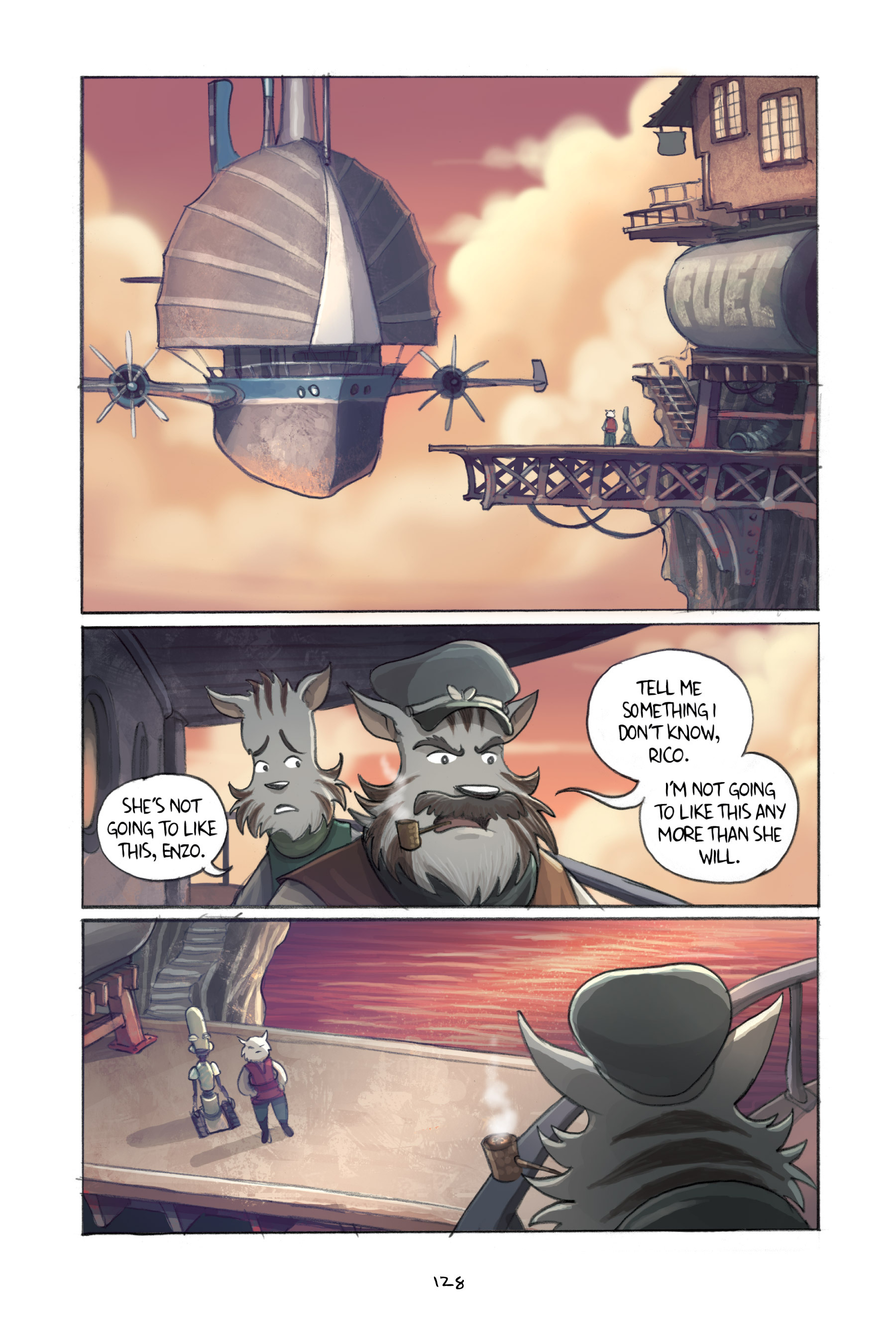 Read online Amulet comic -  Issue #3 - 125