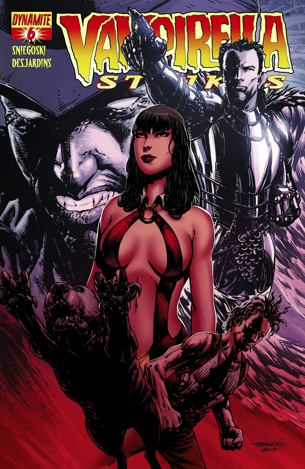 Read online Vampirella Strikes comic -  Issue #6 - 1