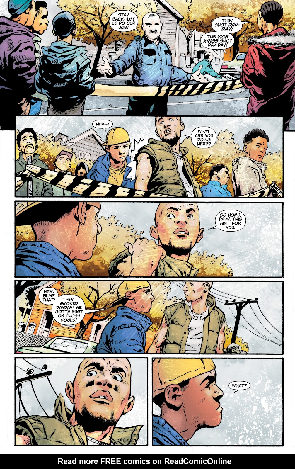Read online Noble comic -  Issue #15 - 11
