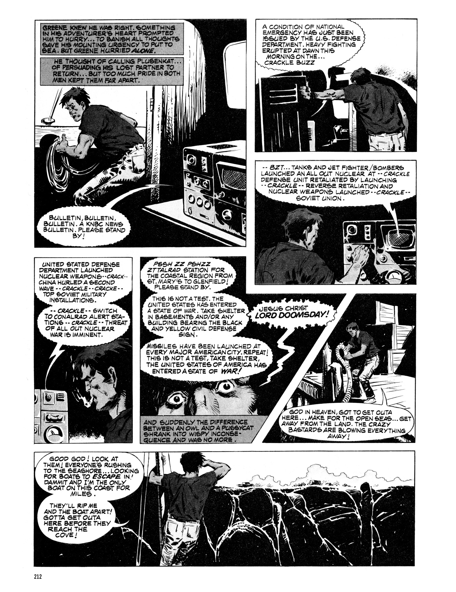 Read online Eerie Archives comic -  Issue # TPB 16 - 213