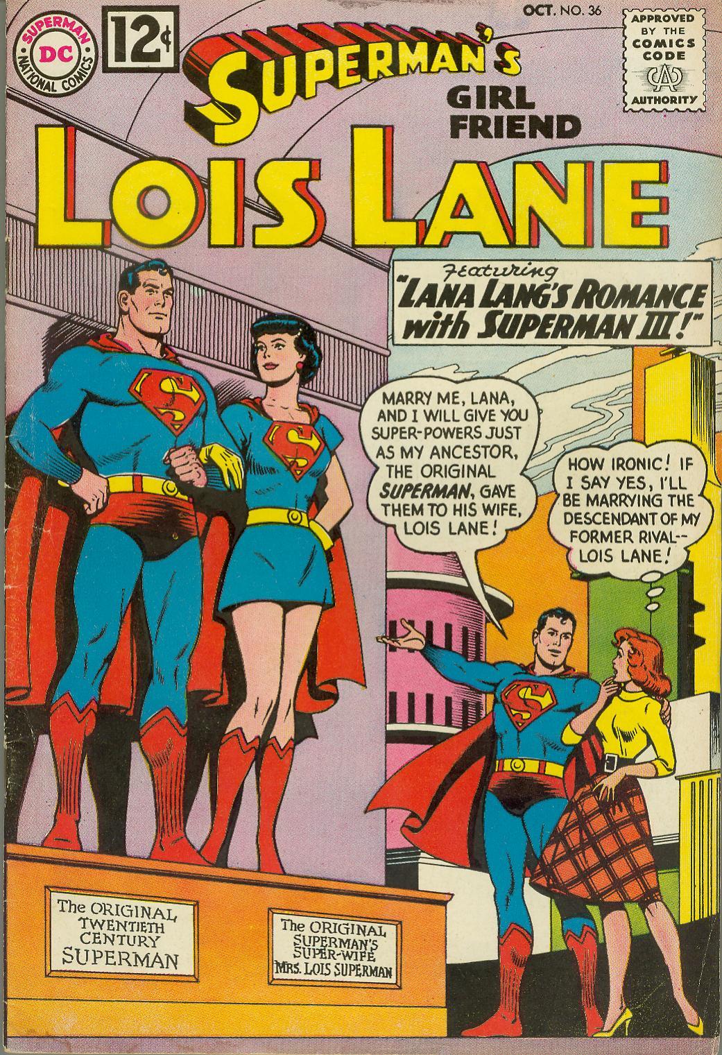 Supermans Girl Friend, Lois Lane 36 Page 1