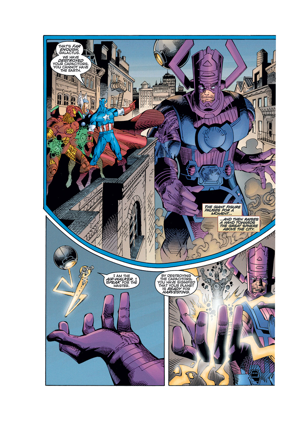 Read online Avengers (1996) comic -  Issue #12 - 34