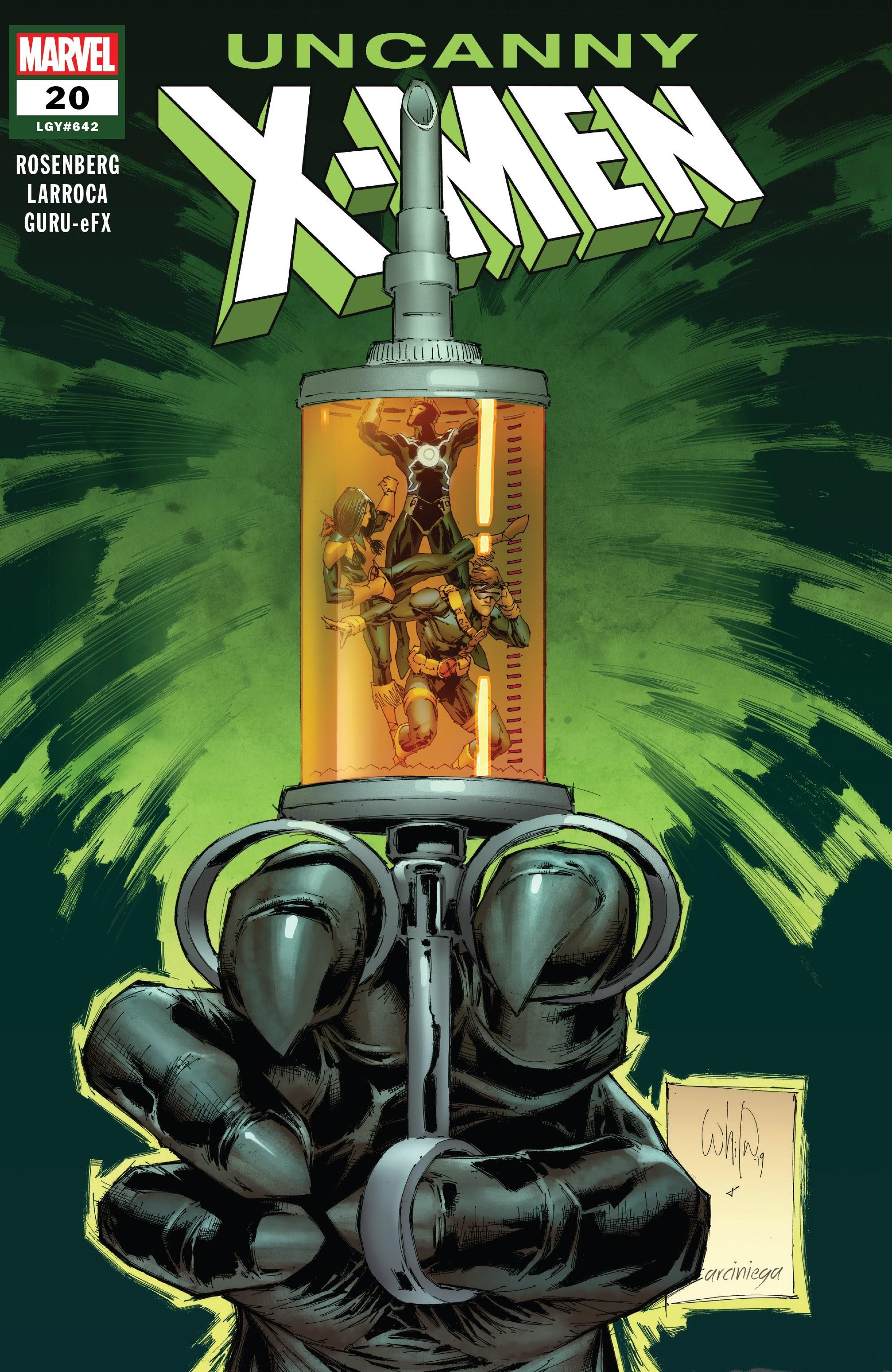 Uncanny X-Men (2019) 20 Page 1