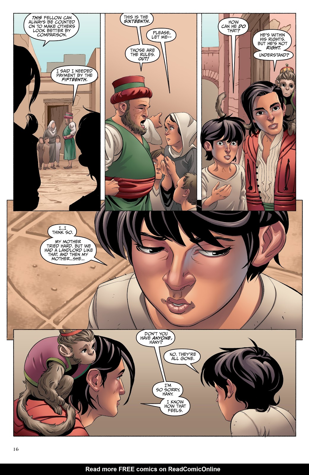 Read online Disney Aladdin: Four Tales of Agrabah comic -  Issue # TPB - 16