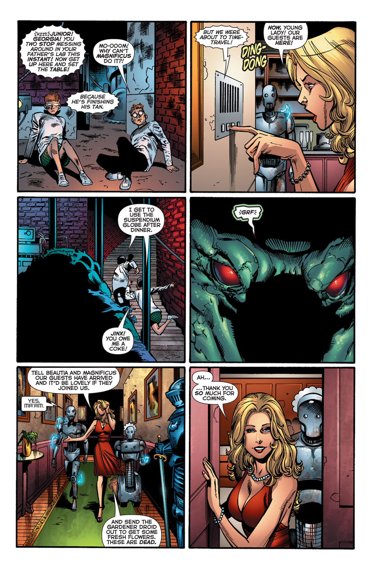 Read online 52 comic -  Issue #26 - 12