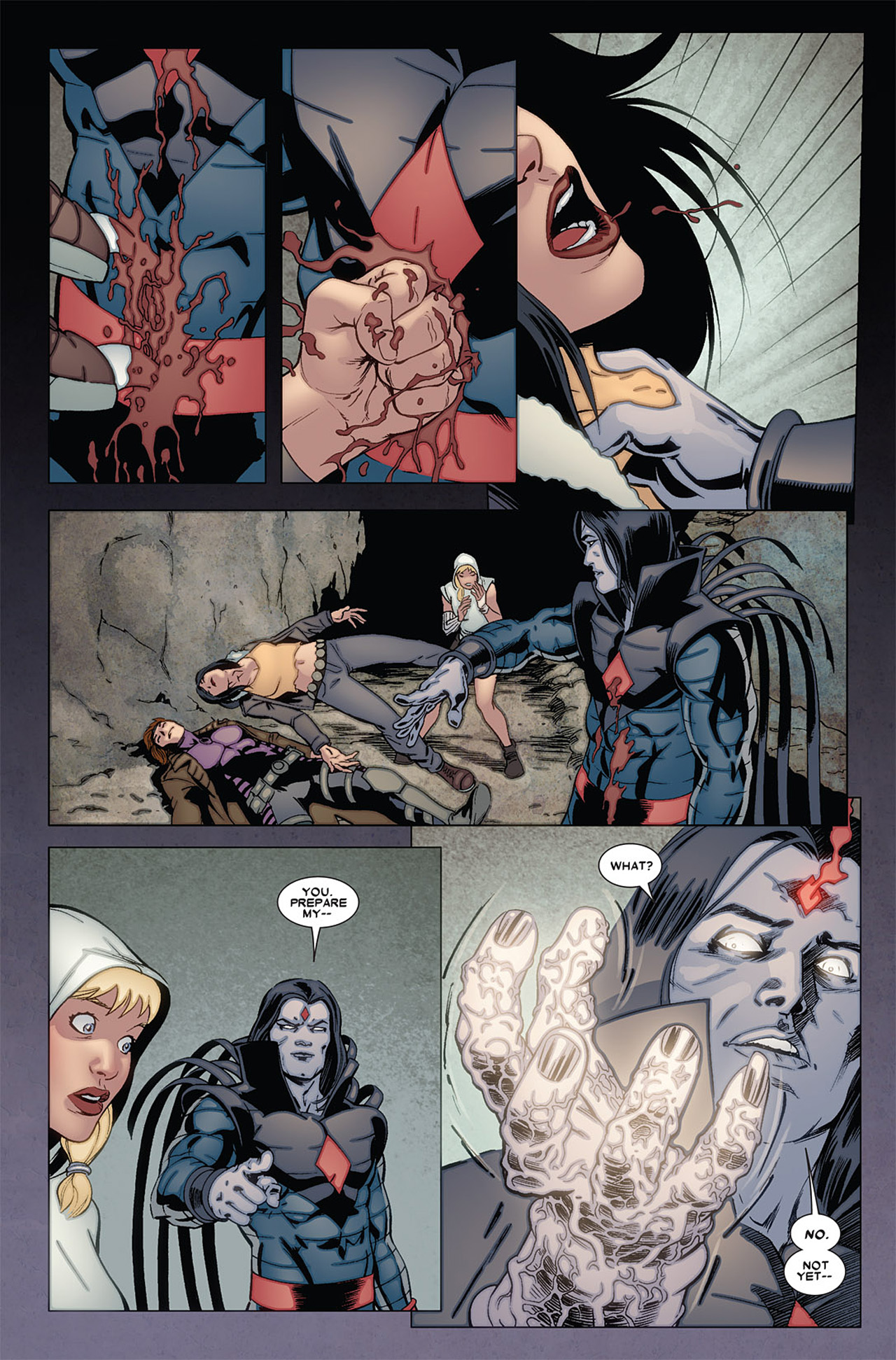 Read online X-23 (2010) comic -  Issue #6 - 6