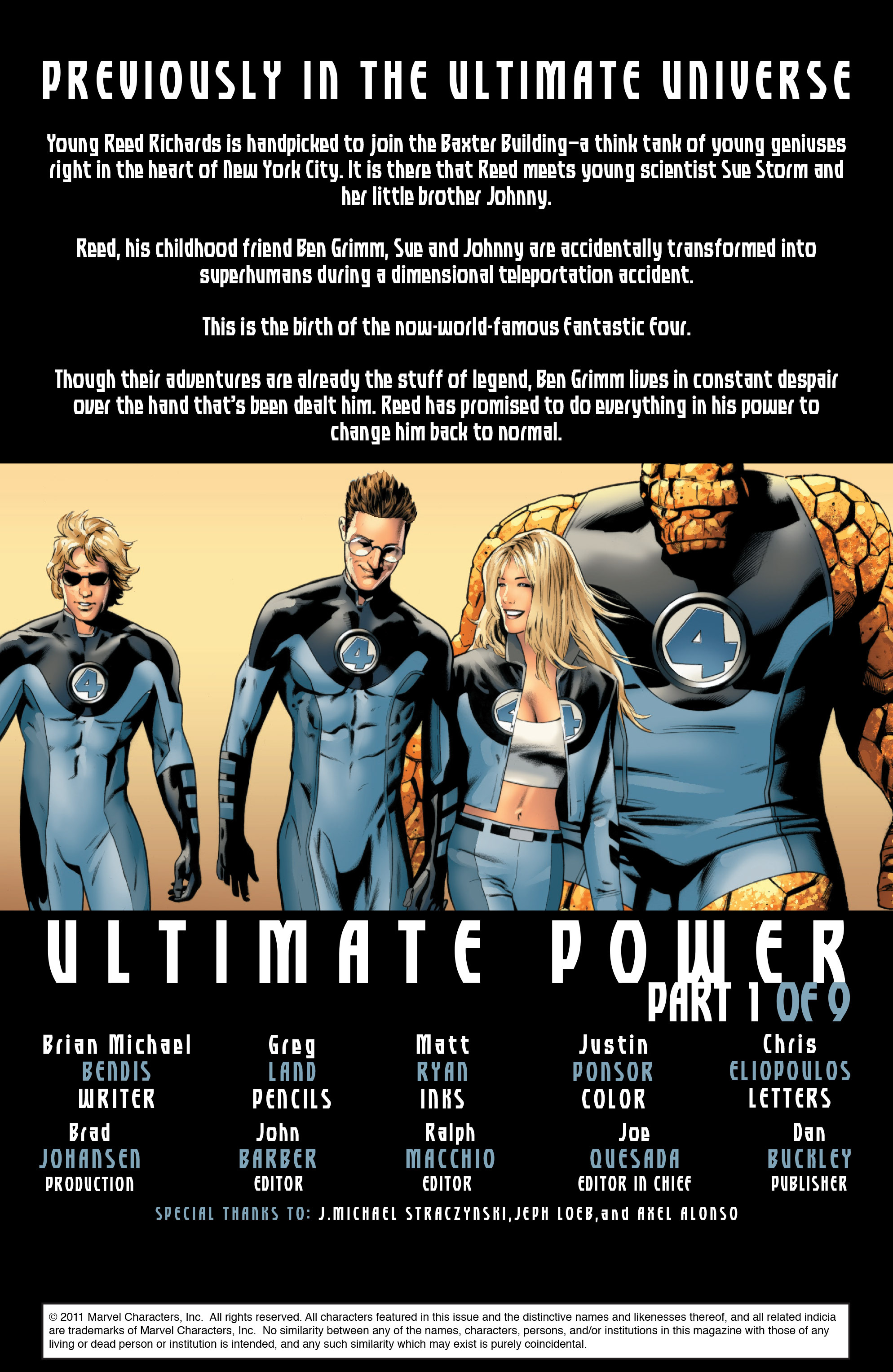 Read online Ultimate Power comic -  Issue #1 - 2