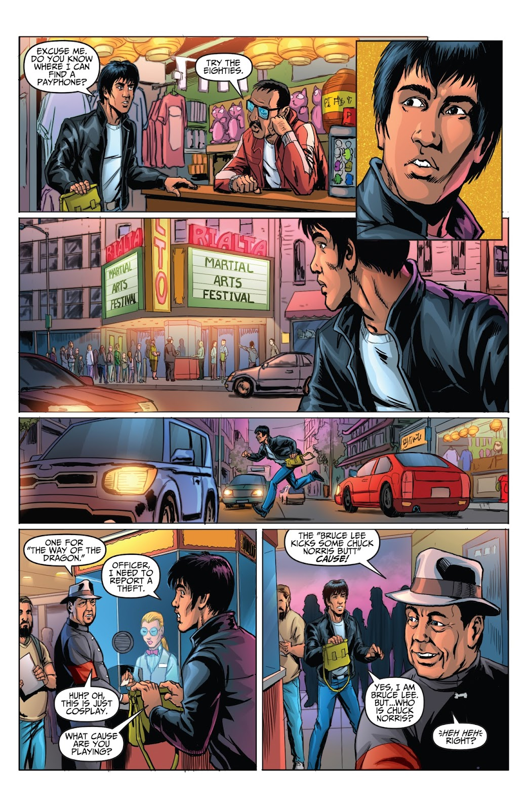 Bruce Lee: Walk of the Dragon issue Full - Page 12