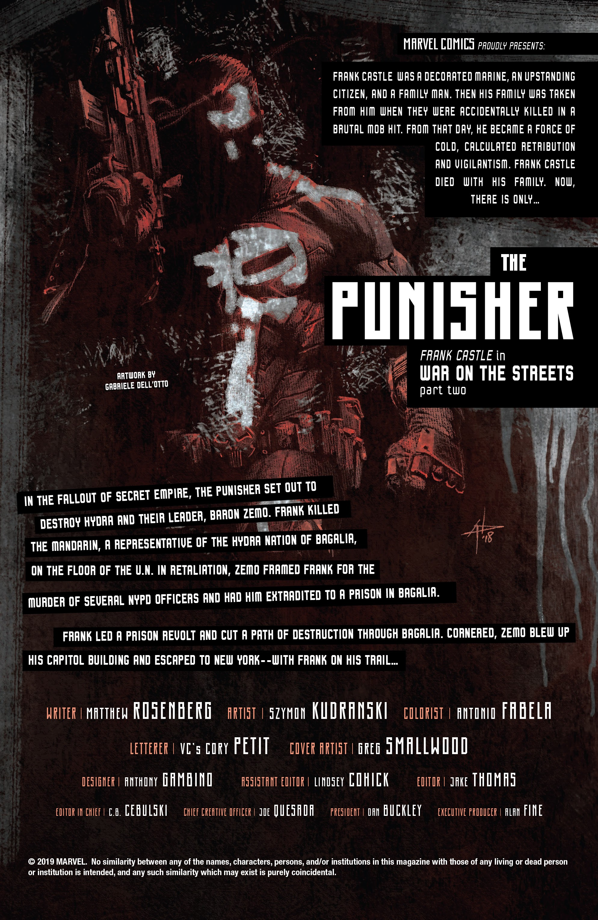 Read online The Punisher (2018) comic -  Issue #13 - 2