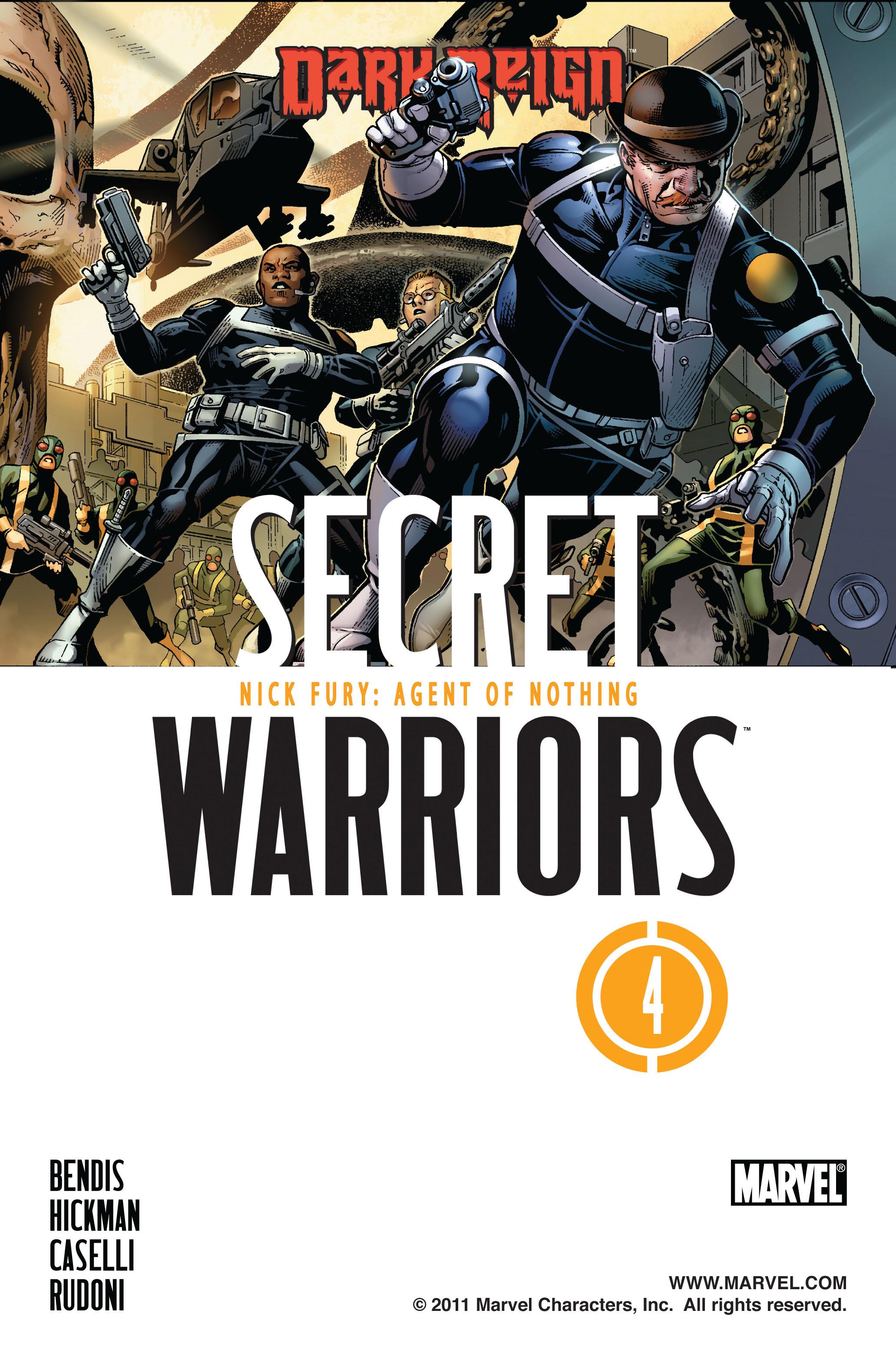 Read online Secret Warriors comic -  Issue #4 - 2