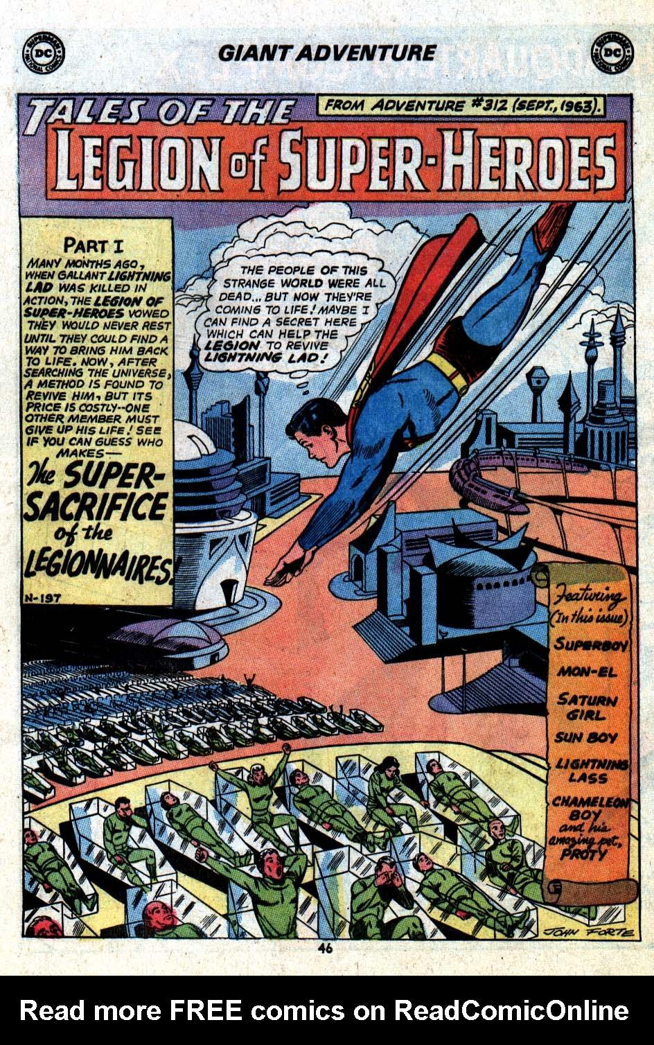 Read online Adventure Comics (1938) comic -  Issue #403 - 49