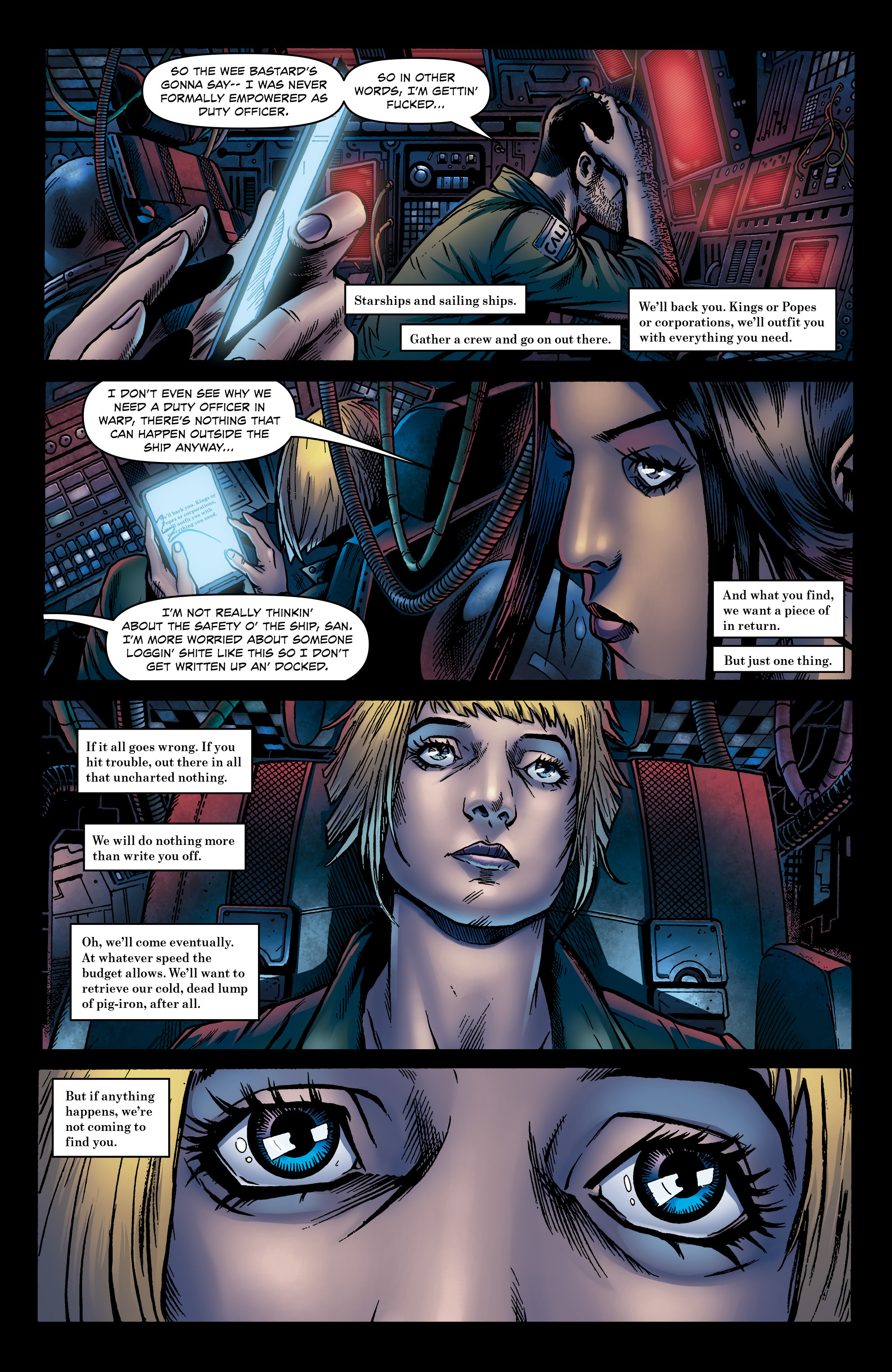 Read online Caliban comic -  Issue #1 - 15