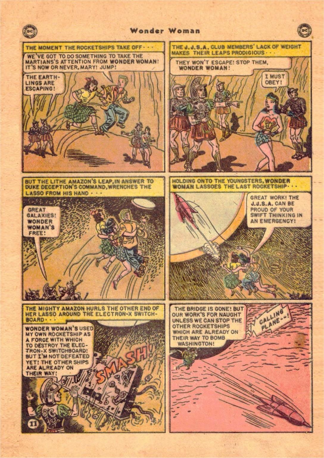 Read online Wonder Woman (1942) comic -  Issue #47 - 46