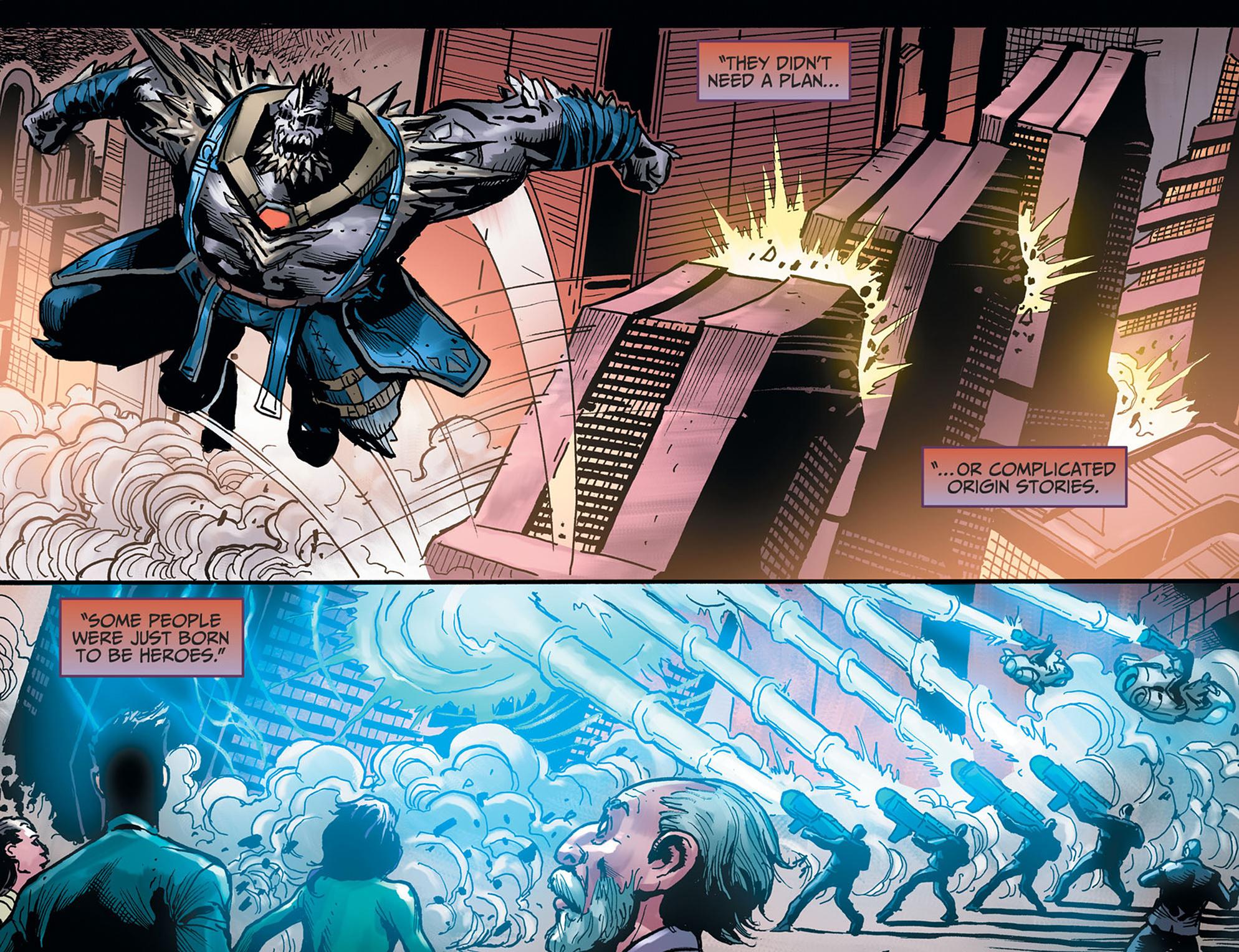 Read online Injustice: Ground Zero comic -  Issue #22 - 17