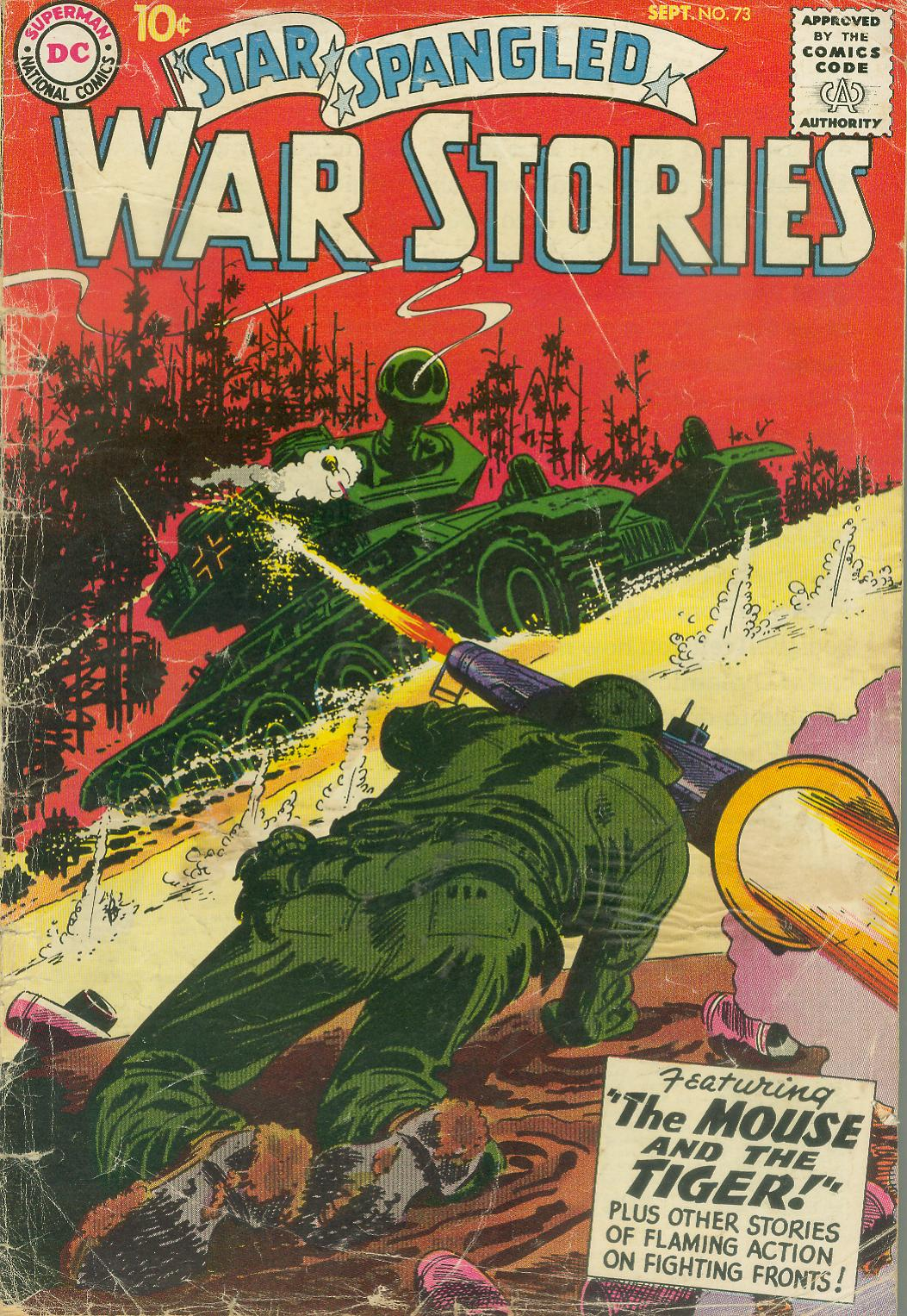 Star Spangled War Stories (1952) issue 73 - Page 1