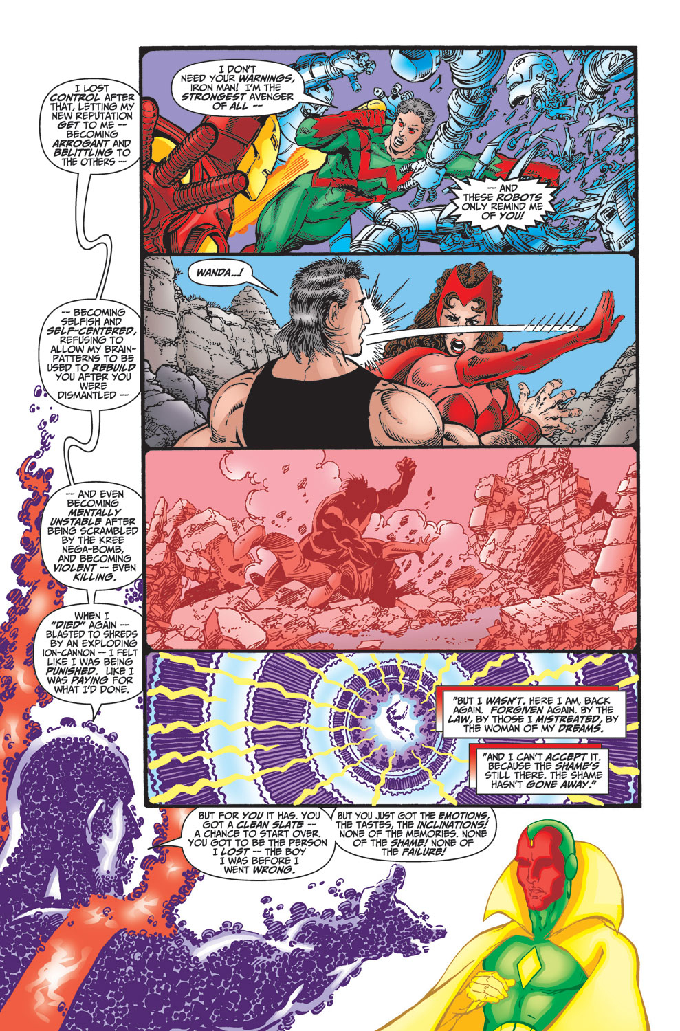 Read online Avengers (1998) comic -  Issue #23 - 21