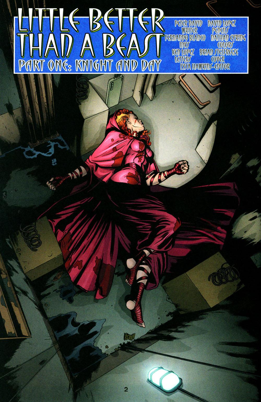 Read online Fallen Angel (2003) comic -  Issue #3 - 3